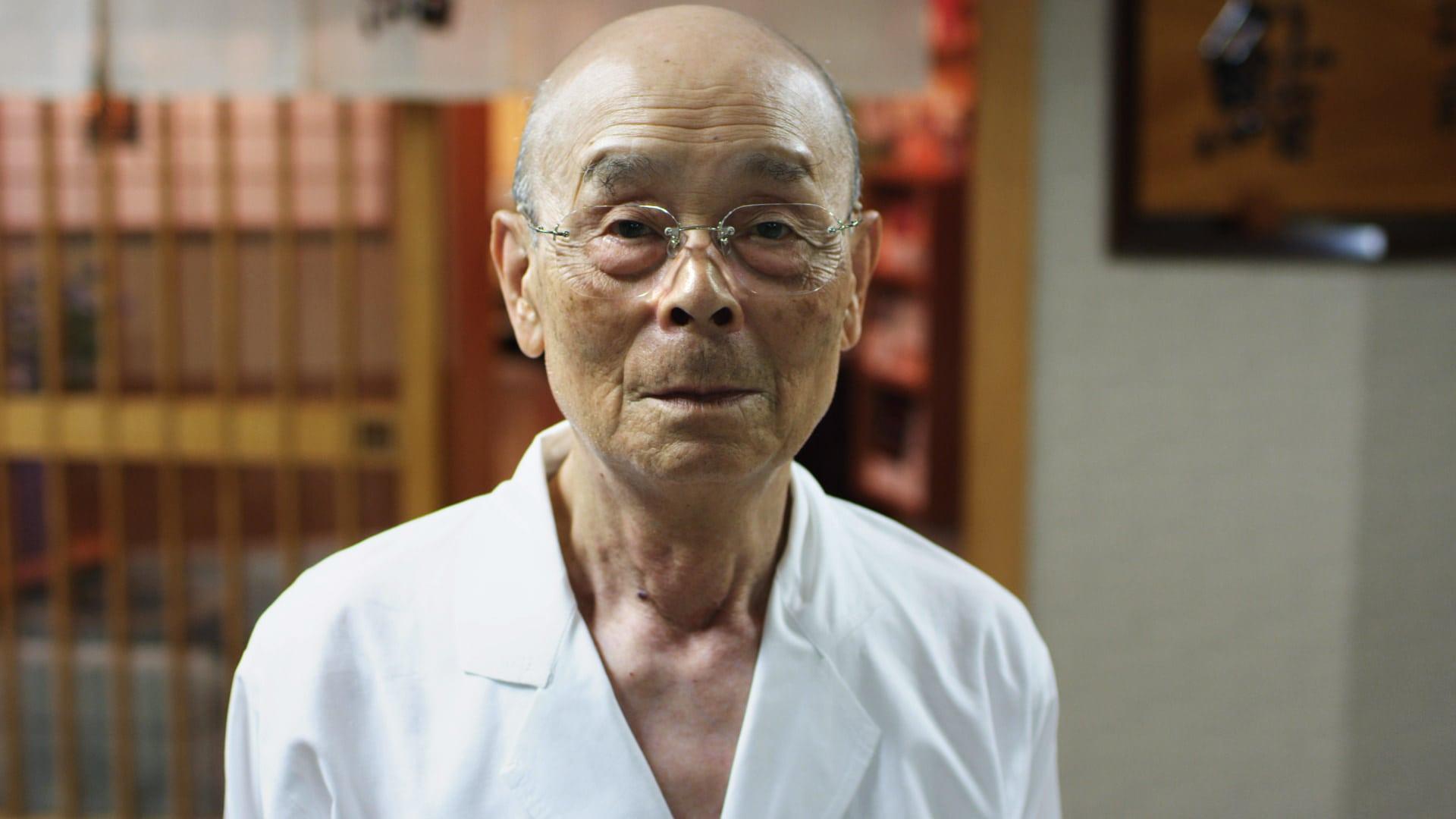 Jiro Ono in 'Jiro Dreams of Sushi,', a Magnolia Pictures release. Photo courtesy of Magnolia Pictures.