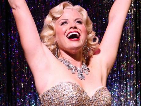 Megan Hilty in Encores! production of 'Gentlemen Prefer Blondes.' Photo by broadway.com