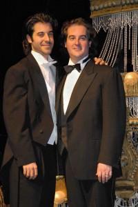 (Left to Right): Kristofer and Rolando Sanz.
