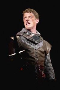 Zach Appelman (Henry V). Photo by Scott Suchman.