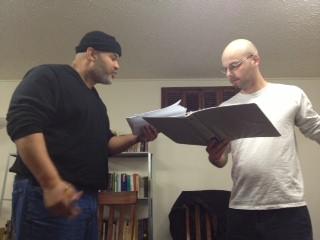 Elliot Dash (TODD) and Stephen Backus (JAN). Photo courtesy of Wunderlust Theater Lab.