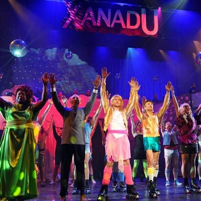 The cast of 'XANADU.' Phot by Michael Key of The Washington Blade.