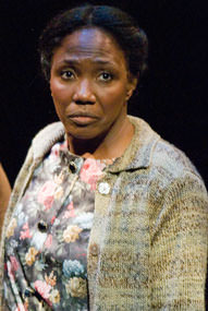 Margo Moorer as Nella. Photo by Phil Scarsbrook, courtesy of Alabama Shakespeare Festival.