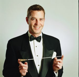 Conductor Steven Reineke. Photo courtesy of The Kennedy Center.