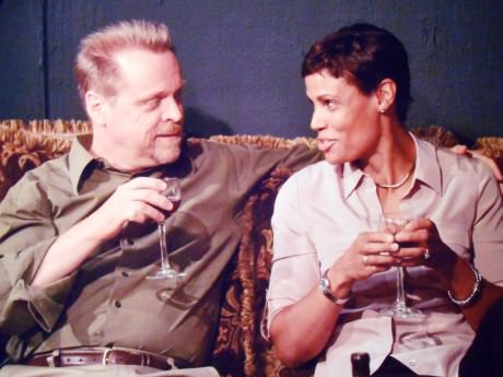 L to R: Jean (Marianne Meyers) and Stevie  David Dieudonne). Photo by Harvey Levine.