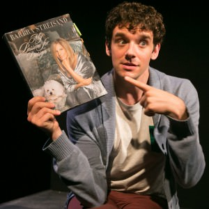 Michael Urie in 'Buyer & Cellar.' Photo by Sara Krulwich/The New York Times.