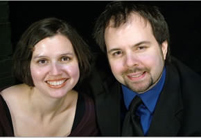 Melissa Baughman, Associate Producing Director  and Resident Director and Andrew Lloyd Baughman, Producing Artistic Director of Landless Theatre.