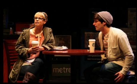 Erin Weaver (Deb) and Samuel Edgerly (Warren). Photo by Danisha Crosby.