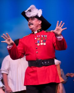Major General Stanley (George Willis). Photo by Harvey Levine.