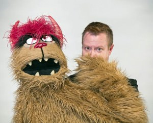 Trekkie Monster (Stephen Gregory Smith). Photo by Stan Baouh.