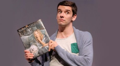 Michael Urie in 'Buyer & Cellar.' Photo by Joan Marcus.