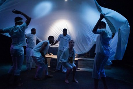 The cast of 'Dontrell, Who Kissed the Sea.' Photo by C. Stanley Photography.
