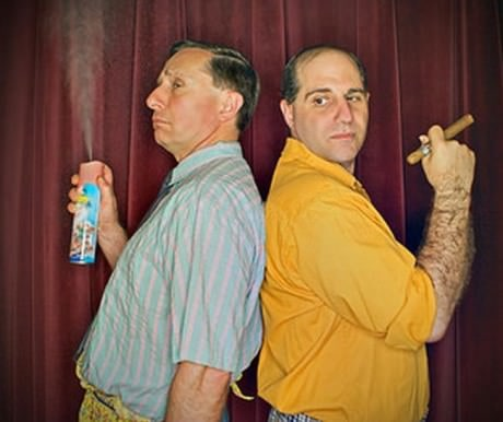 Felix (Chris Barsam) and Oscar (Sam Ranocchia). Photo by  freyphotographic.