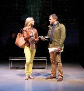 Will Gartshore (Jason), and Janine DiVita (Claire). Photo by Danisha Crosby.