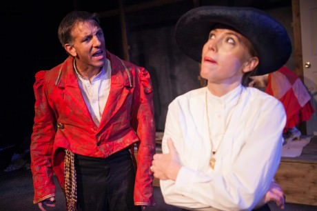 Mark Ludwick & Stacey Whittle in 'Old Gray Devil.' Photo by C. Stanley Photography.