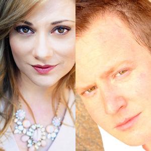 Maria Egler and Stephen Gregory Smith. Photo courtesy of Signature Theatre.