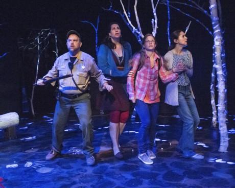 (Sasha Olinick, Carla Briscoe, Maggie Erwin, and Liz Osborn. Photo by Teresa Castracane.