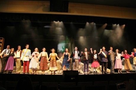 The cast of 'Into the Woods.' Photo by Donna Hopkins.
