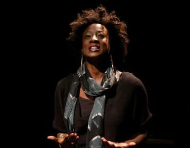 Daphne Gaines as Simone the Believer. Photo by Seth Freeman.