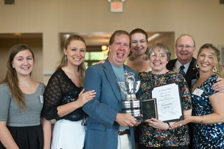 """2nd Star Productions' 'Hello, Dolly'!' winner of the """"All Round Production Excellence.'  Photo by Harvey Levine."""