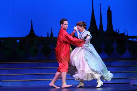 Anna (Jenna Pinchbeck) and The King (Russell Rinker). Photo by Alan Lehman.
