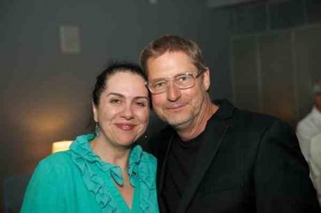 Peggy McKowen and Ed Herendeen.