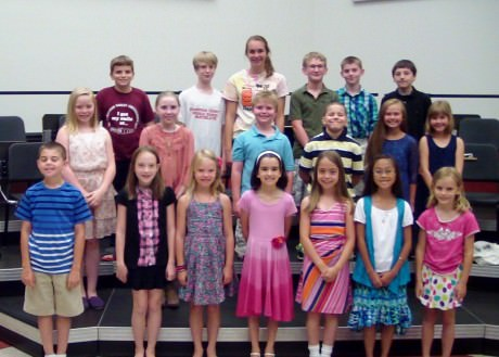 SSMT's child cast for The King and I