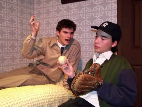 Brothers Stanley (Mike Culhane) and Eugene Jerome (Casey Baum). Photo by Roy Peterson.