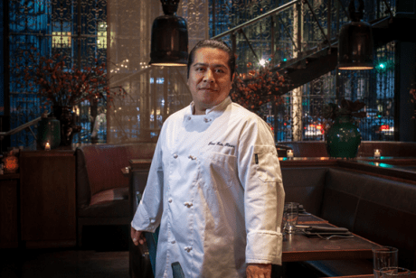 Pastry Chef Joseluis Flores.