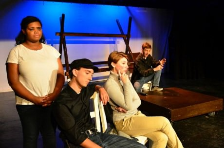 The cast of 'The Laramie Project.' Dave Warner/Route 37 Photography.