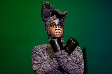 Devyn Tinker (Donkey). Photo courtesy of The Alliance Theatre.