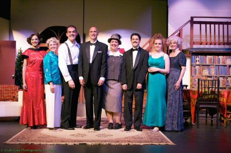 The cast of 'The Game's Afoot.' The cast of 'The Game's Afoot.' Photo by Toby Chieffo-Reidway/Irish Eyes Photography by Toby.