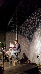 Chris Sisson and Nate Elman. Photo by Jillianne McCarty.