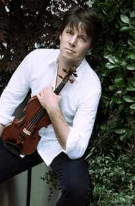 Joshua Bell. Photo courtesy of The Kennedy Center.