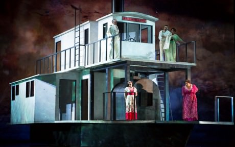 The company of 'Florencia in the Amazon.' Photo by Scott Suchman.