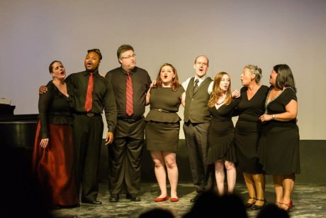 Cast of 'You're Gonna Love Tomorrow', photo by Bruce F Press Photography, courtesy Red Branch Photography