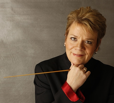 Music Director Marin Alsop. Photo courtesy of The Baltimore Symphony Orchestra.