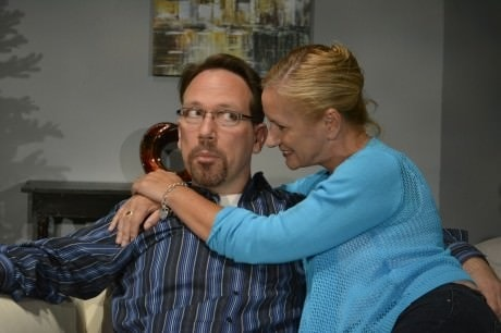 Drew (Lars Klores) and Jane (Nicky McDonnell). Photo by Michael deBlois.