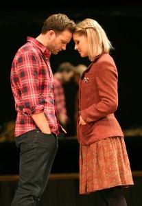 Stuart Ward and Dani de Waal from the 'Once' Tour Company. © Joan Marcus.