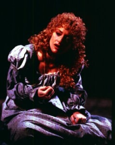 As Fantine in 'Les Misérables' at The Royal Shakespeare Company, Barbican Theatre Center, in London in 1985. Photo courtesy of Patti LuPone's website.