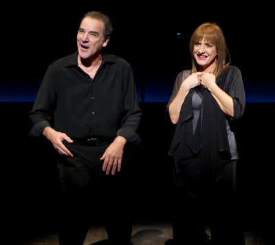 Mandy Patinkin and Patti LuPone. Photo by Joan Marcus.