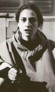 Playing Ruth in David Mamet's 'The Woods' at Second Stage Theatre in NYC in 1982.