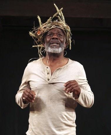 Joseph Marcell (King Lear). Photo by Ellie Kurttz.