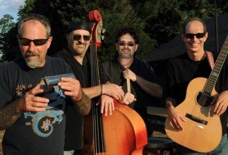 40th Anniversary edition Nighthawks: (from left) Mark Winner, Johnny Castle, Mark Stutso, Paul Bell. Photo courtesy of The Bluegrass Special. com