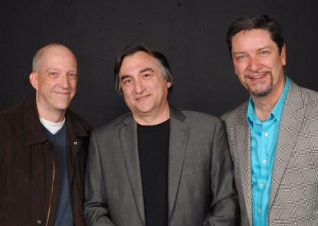 Eric C. Stein, Mark Scharf, and Steven Shriner. Photo by Tom Lauer.