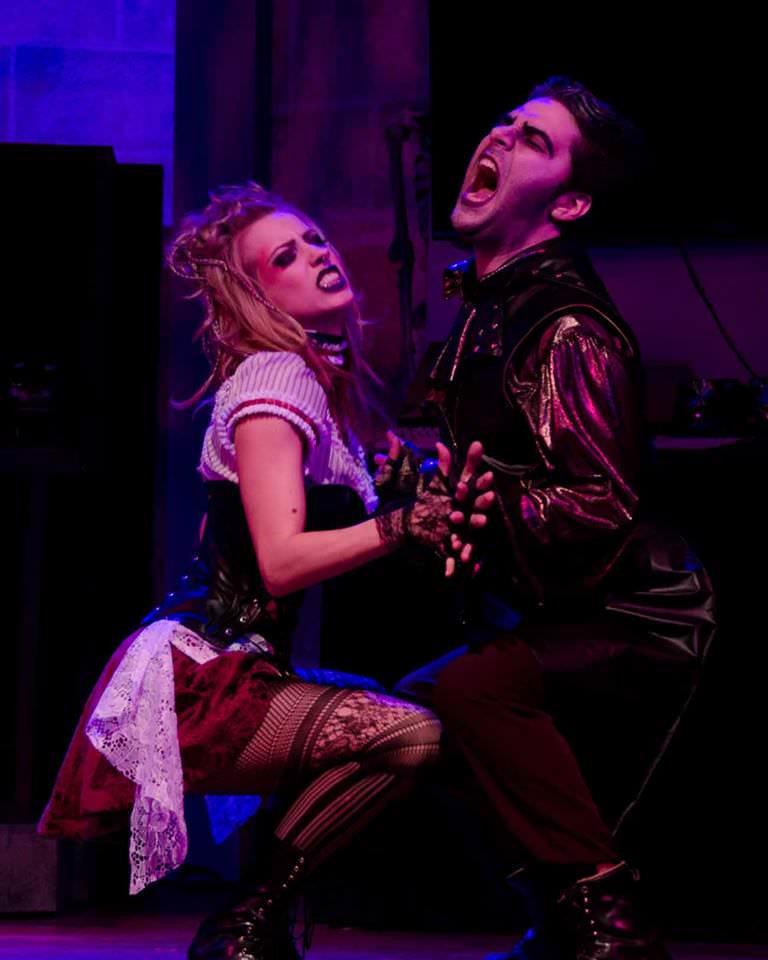 Paige Taylor (Magenta) Matt Liptak (Riff Raff). Photo by Doug Omsted.