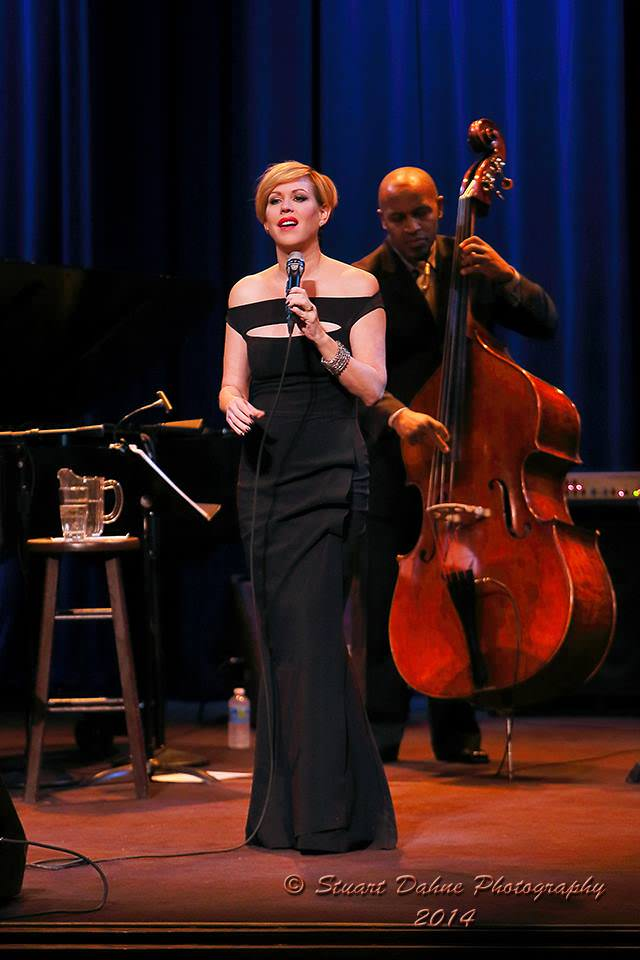 Molly Ringwald at the The Gordon Center in Owings Mills. Photo by Stuart Dahne Photography.