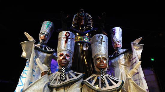 The Pharaoh and Scarabels. Photo by Algerina Perna/ Baltimore Sun.