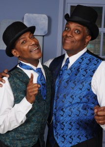 Timoth David Copney (Andre) and Kevin Sockwell (Ken). Photo by Tom Lauer.