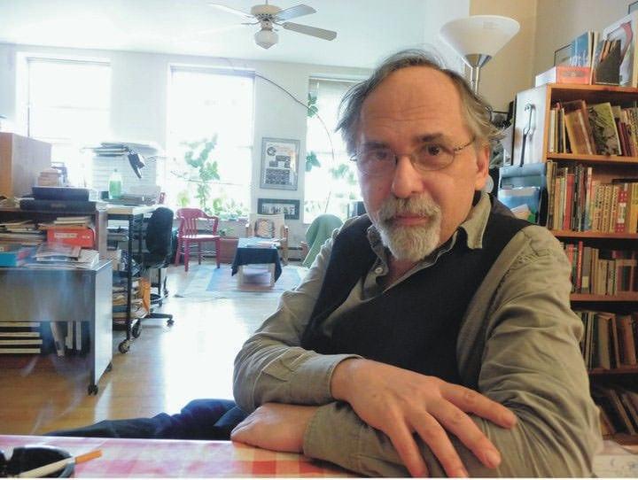 Art Spiegelman. Photo by Nadja Spiegelman.